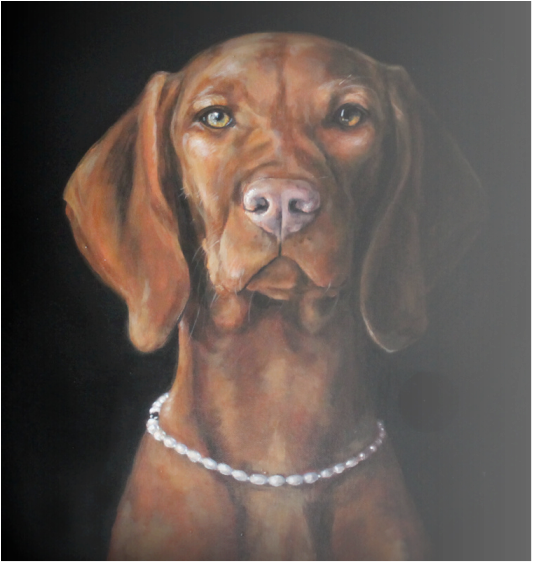 Portrait of Maggie by Matt Johnson