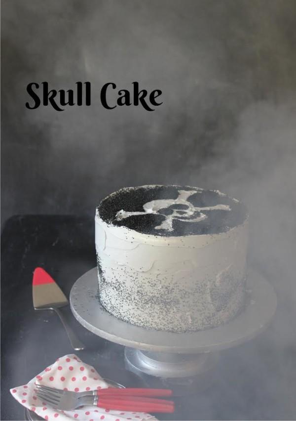 skull Cake from Libbie Summers