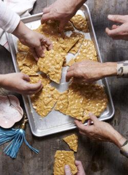 LIBBIE SUMMERS shortstack--04-Salted Brown Sugar Peanut Brittle-hands copy