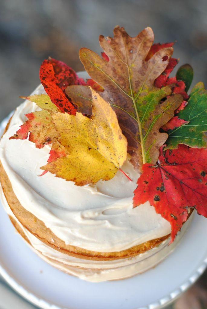 Salty Pumpkin Spice Cake