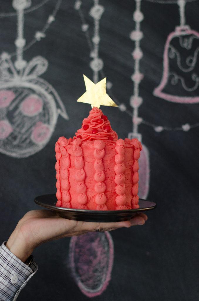 Cinnamon Candy Christmas Cake
