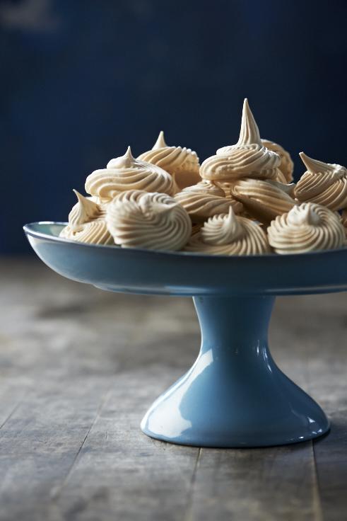 Brown Sugar Meringue Cookies (Recipe by Libbie Summers, photography by Andy Lyons)