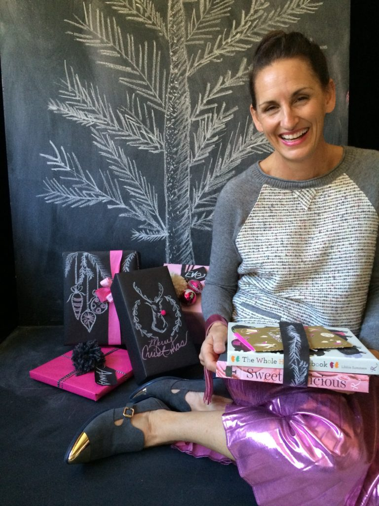 Chalk Board Paper Gift Wrapping with Libbie Summers