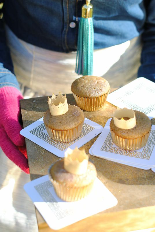 Solid Gold Beet Cupcakes by Libbie Summers from her book Sweet and Vicious –baking with attitude
