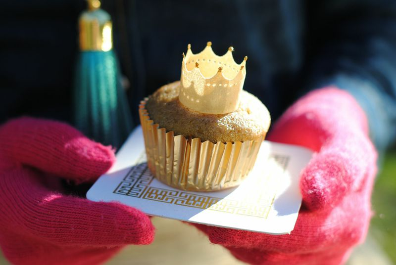 Yellow Beet Cupcakes by Libbie Summers