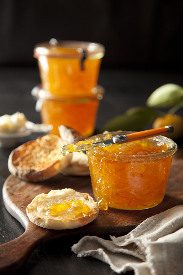 Mandarin Orange Prosecco Preserves by Libbie Summers and Chia Chong for Salted and Styled