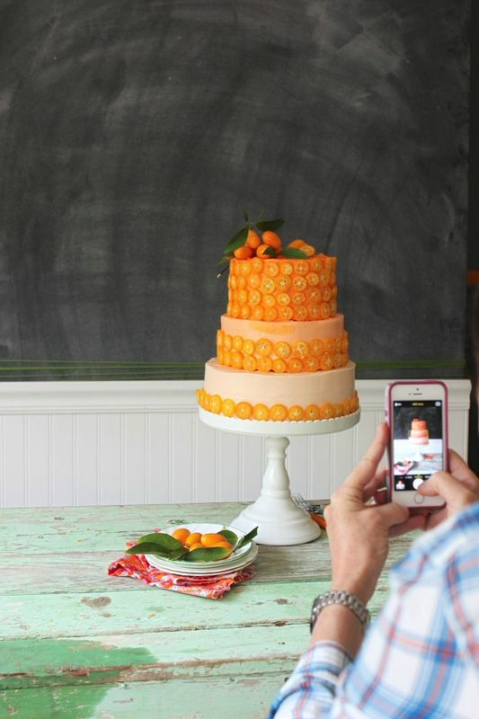 Kumquat Layer Cake from LibbieSummers.com