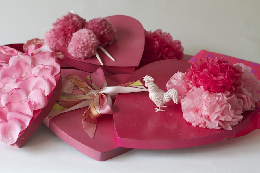 Valentine's Boxes Together