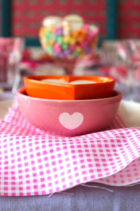 Valentine's Day Table Top from Libbie Summers