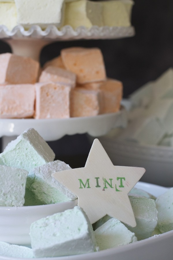 Mega Mint Marshmallows from Libbie Summers