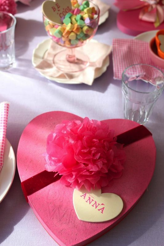 Valentine's Day Luncheon from Libbie Summers