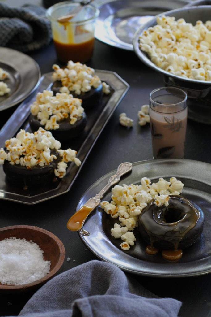 Caramel Popcorn Donut Party from Libbie Summers