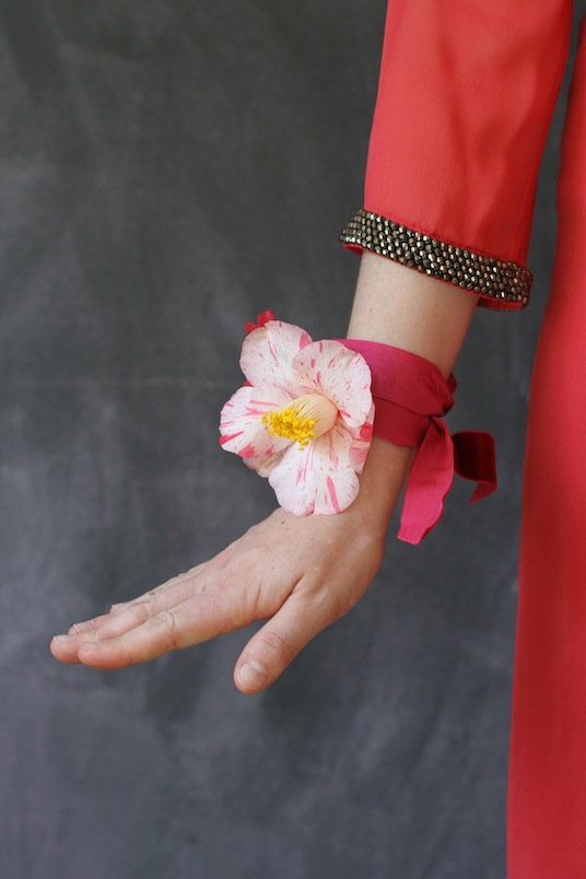 Camelia Corsage from Libbie Summers