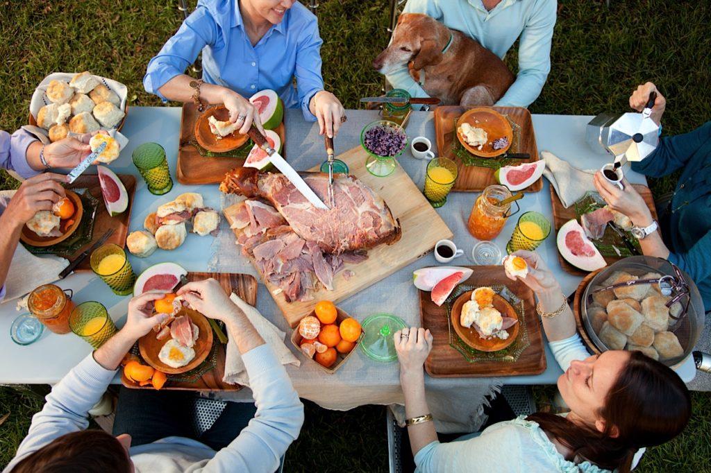 Backyard Breakfast Party from Libbie Summers