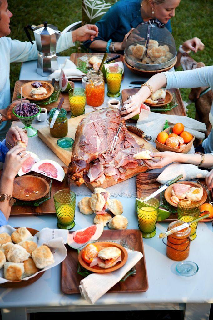 A Backyard Breakfast Party from Libbie Summers