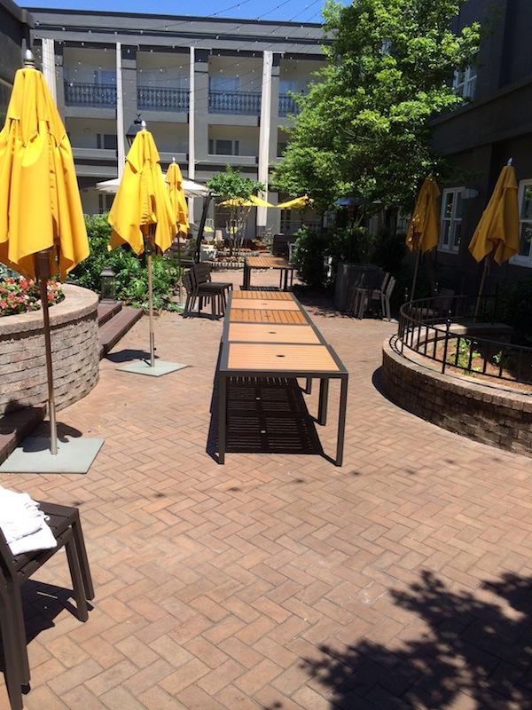 Secret Garden Dinner Party Table  Step 1