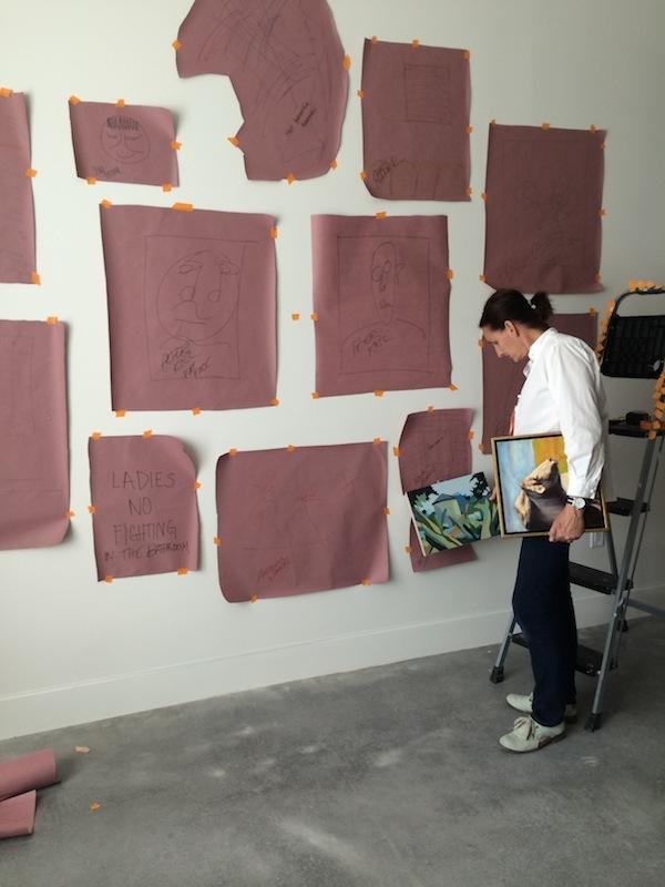 Art Wall DIY from Libbie Summers