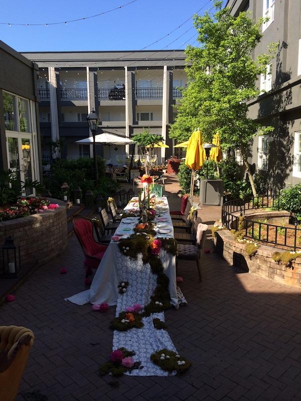 Secret Garden Dinner Party