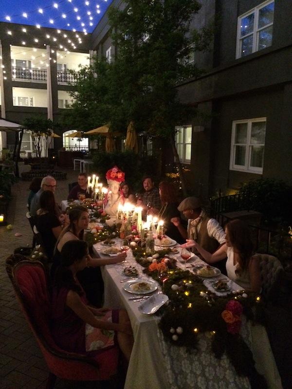 Secret Garden Dinner Party from Libbie Summers