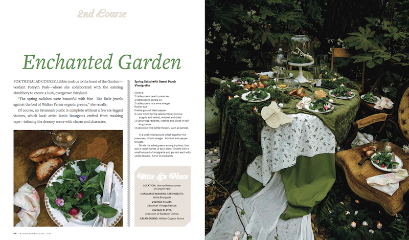 An Enchanting Salad Course from Libbie Summers