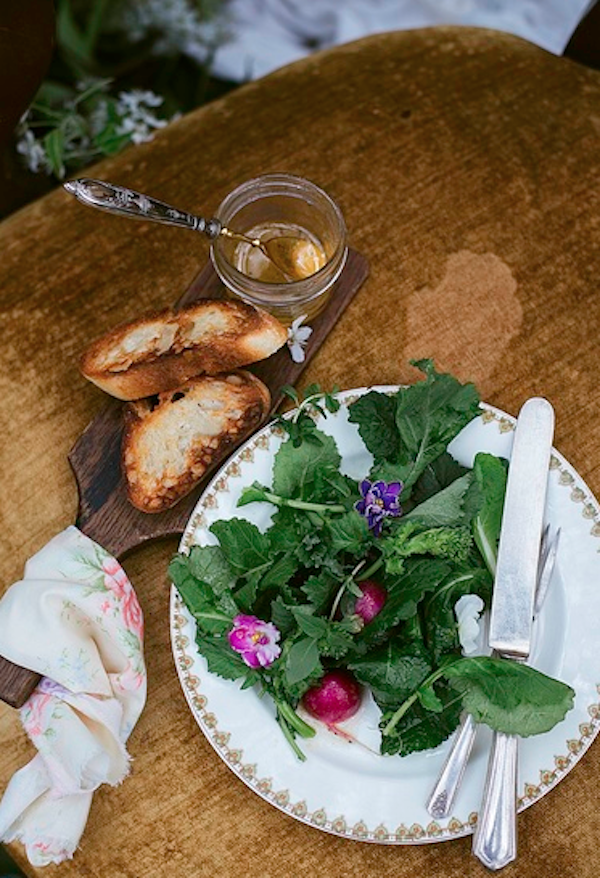 An Enchanting Spring Salad from Libbie Summers