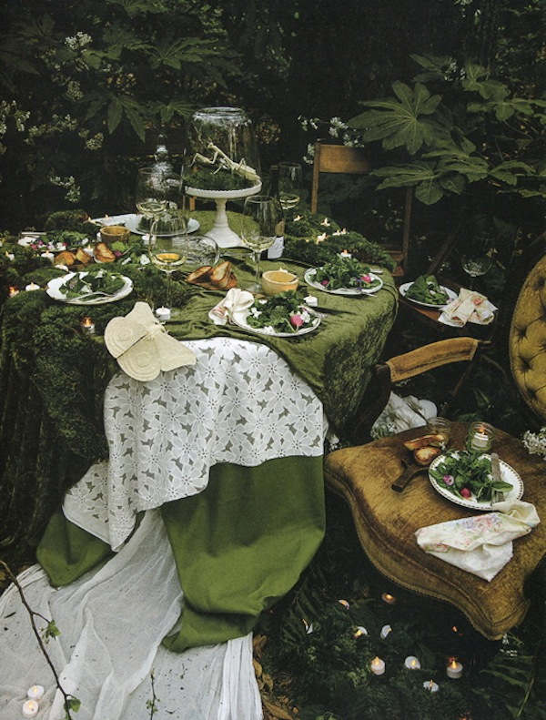 An Enchanted Salad Course from Libbie Summers