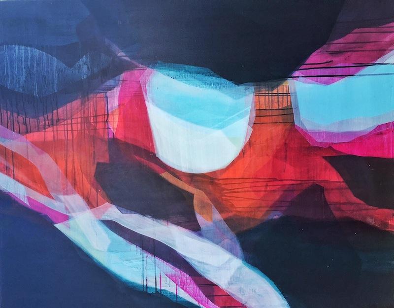 Painting by Katherine Sandoz
