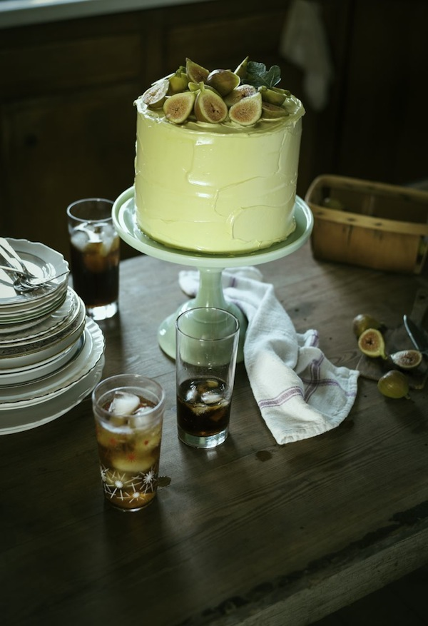 Fig Layer Cake from Libbie Summers (Photo by Cedric Smith)