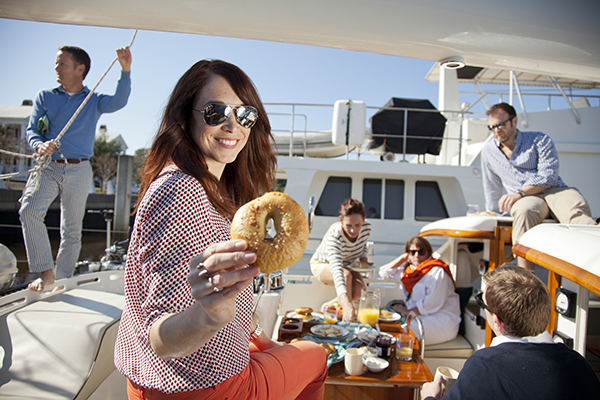 Boat Bagel Party by Libbie Summers (photography by Chia Chong)