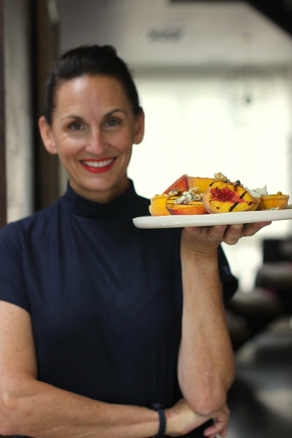 Grilled Peach Dessert from Libbie Summers