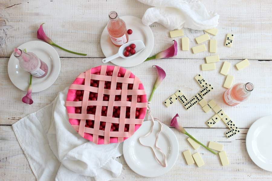 Candy Cherry Pie Dominoes Party from Libbie Summers