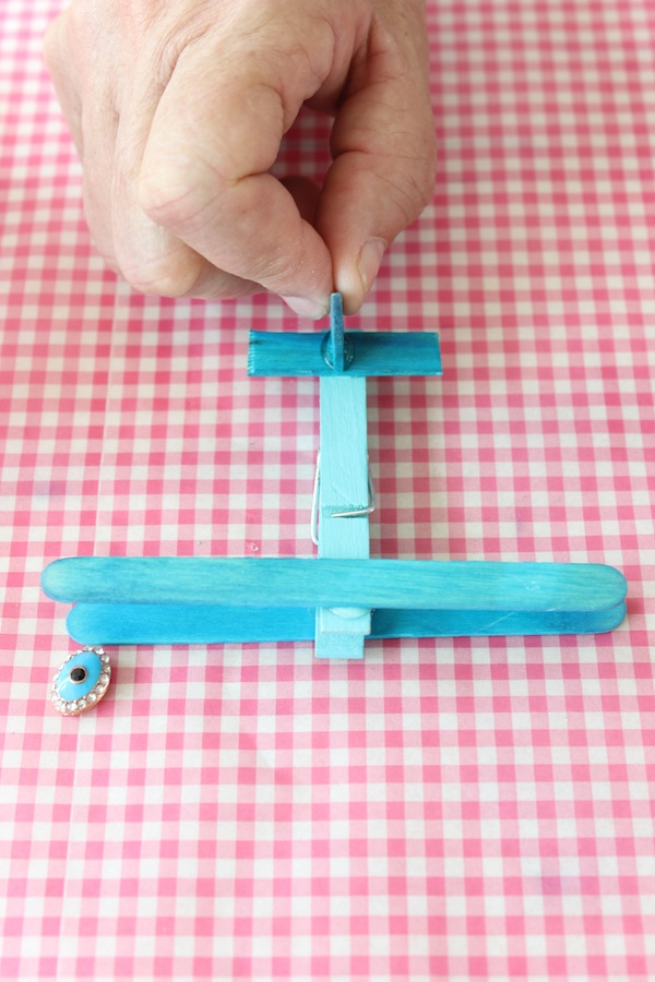 STEP 6 Clothespin Airplanes from Libbie Summers