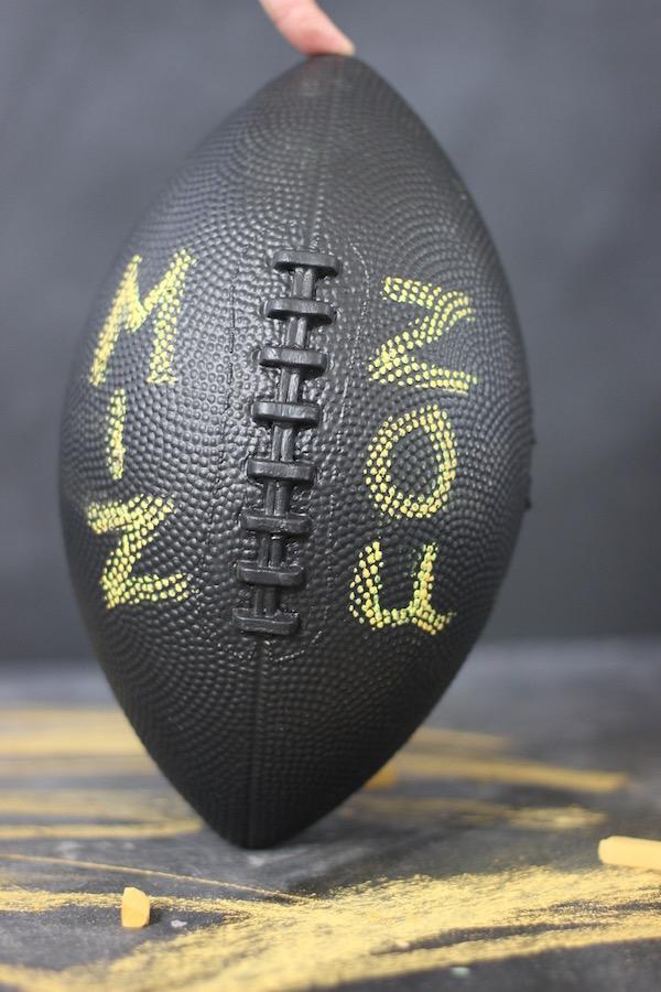 Chalkboard Football from Libbie Summers