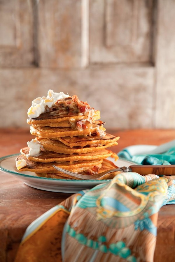 Pumpkin Pie Pancakes from Libbie Summers (The Whole Hog Cookbook, Photography by Chia Chong)