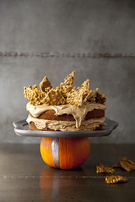 Salty Pumpkin Spice Cake from Libbie Summers (photography by Chia Chong)