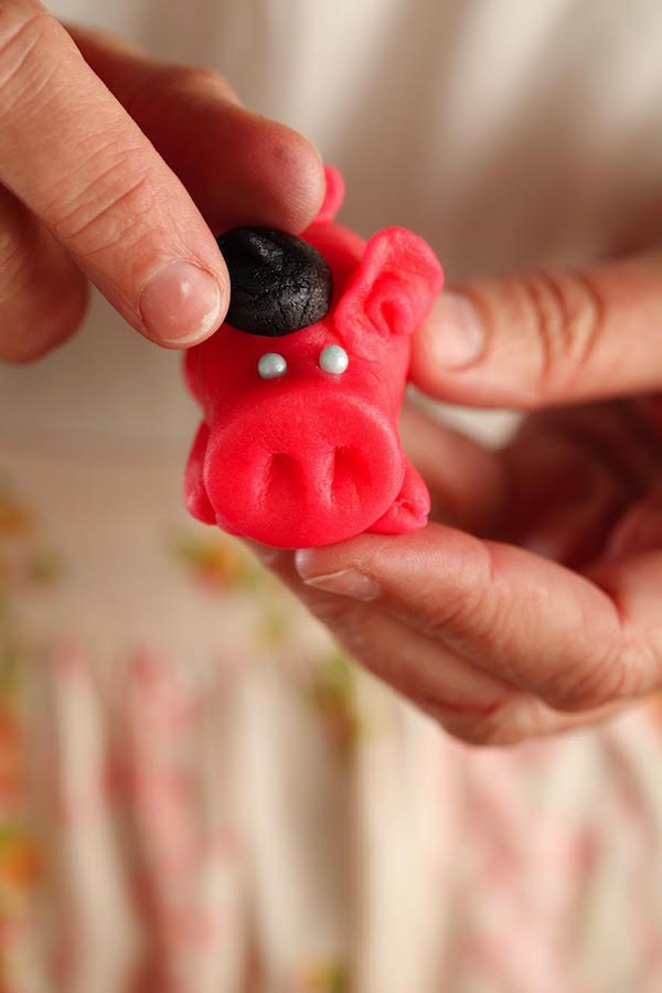 Good Luck Marzipan Pigs from Libbie Summers (Photo by Chia Chong for The Whole Hog Cookbook)