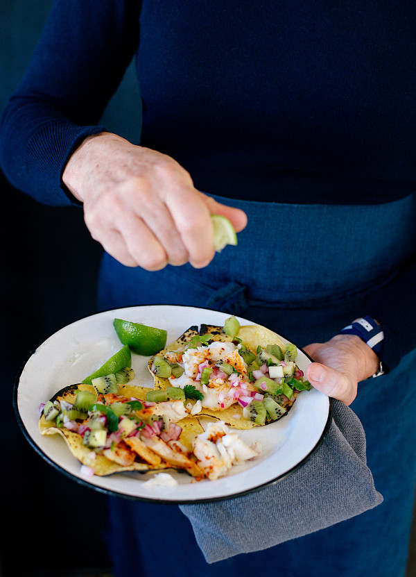 Fish Tacos with Kiwi Salsa from Libbie Summers (photos by Cedric Smith)