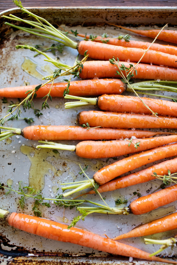 Roasted Carrot Recipe from Libbie Summers