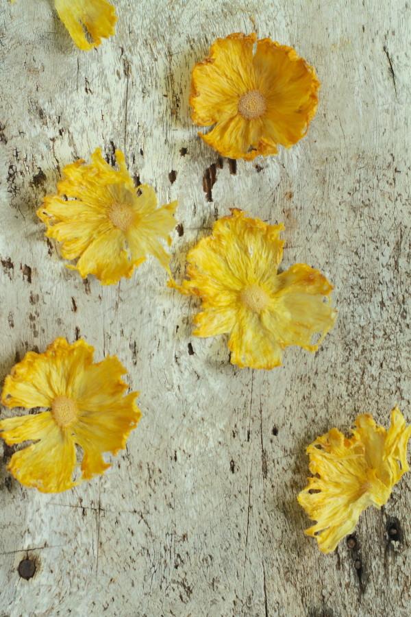 Pineapple Flower Garnish from Libbie Summers