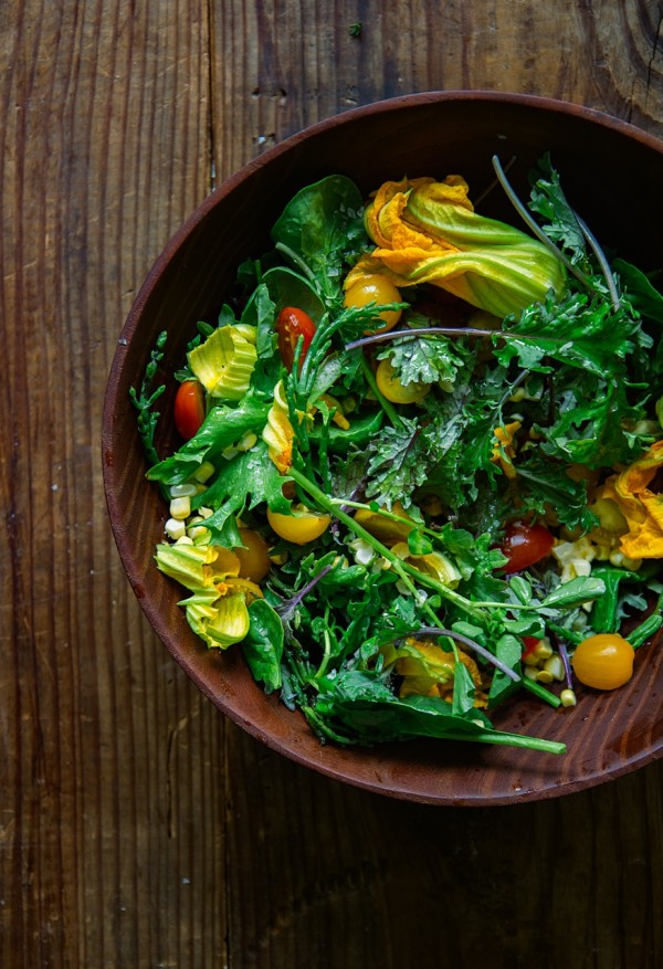 Beautiful Summer Salad Recipe from Libbie Summers