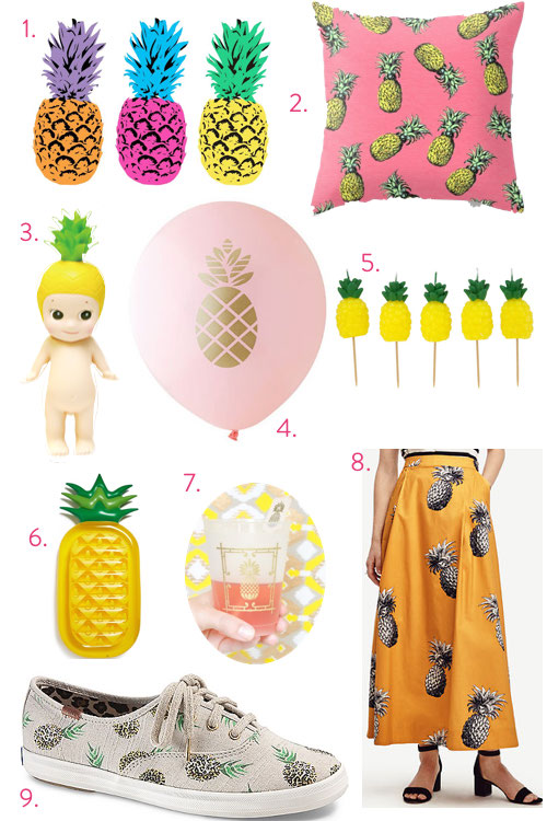 I love pineapples from Libbie Summers (GIVEAWAY)