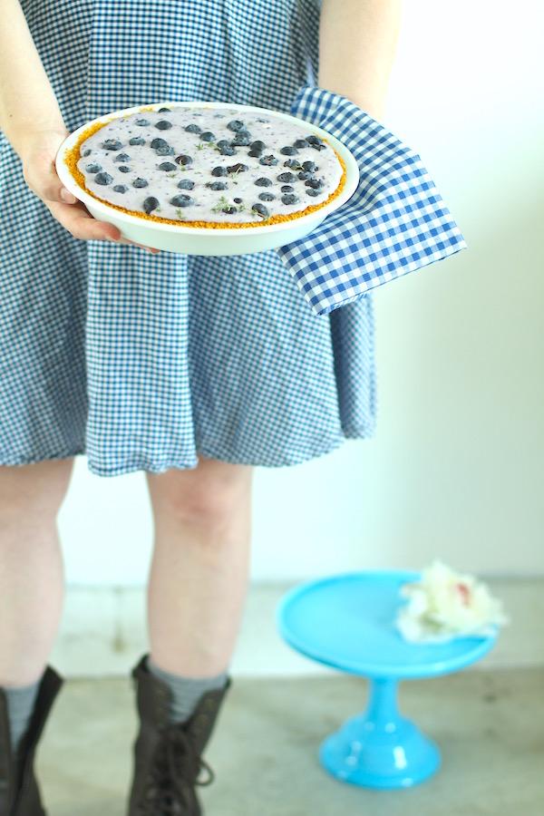 Blueberry Pie, Summer Pies, Refrigerator Pie, Libbie Summers