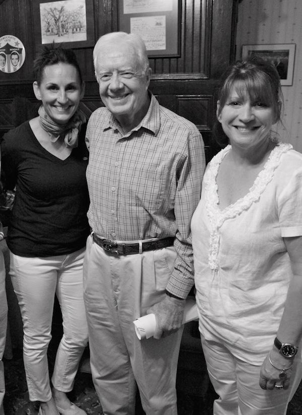 Private Dinner for President Jimmy Carter in Plains, GA