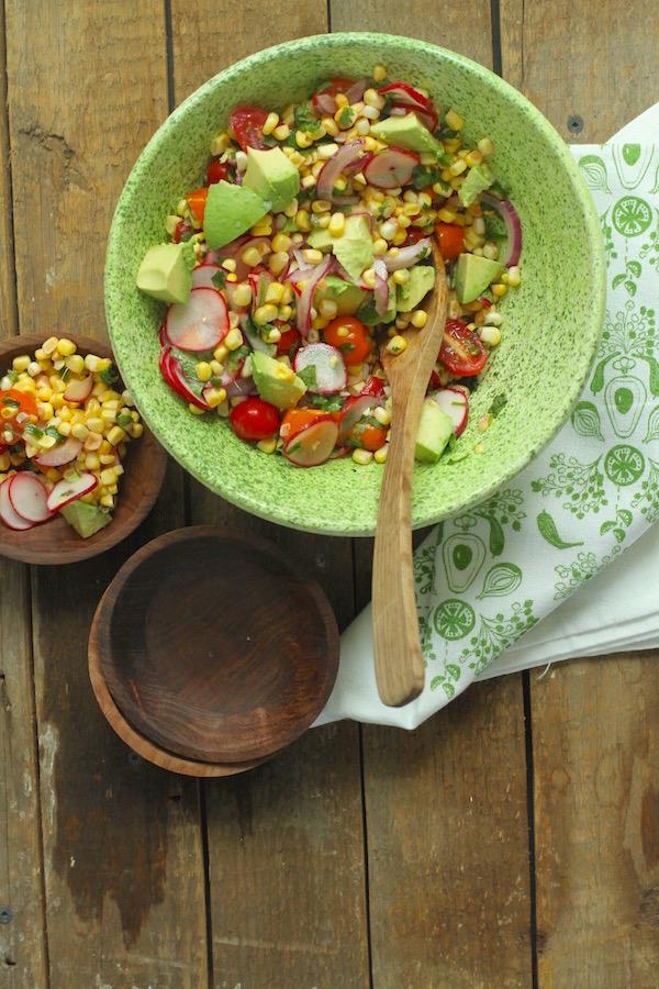Summer Salads, Corn Salads, Libbie Summers Recipes