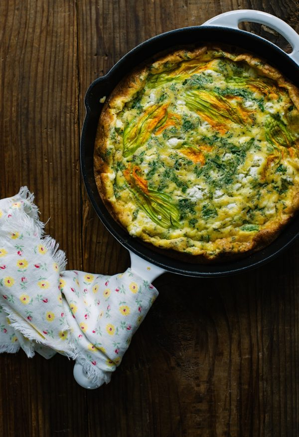 Breakfast Dishes, Egg Dishes, Libbie Summers Breakfast Recipes, Squash Blossoms