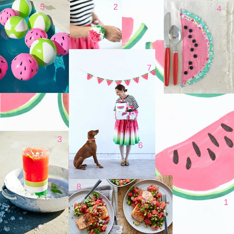 Watermelon Party Decor, Party Decorations, Summer Parties, Gift Wrapping, Recipes with Watermelon, Libbie Summers