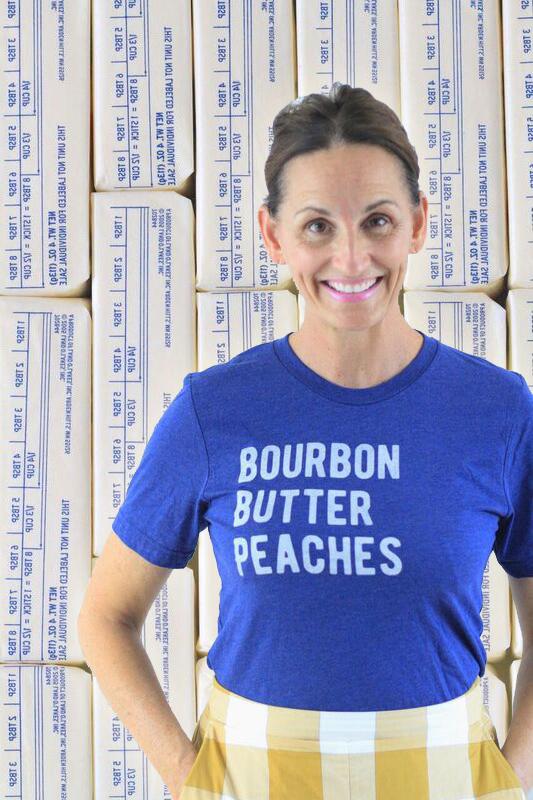 Fun T-shirts, Libbie Summers, Banner Butter, Sweet Peach Blog