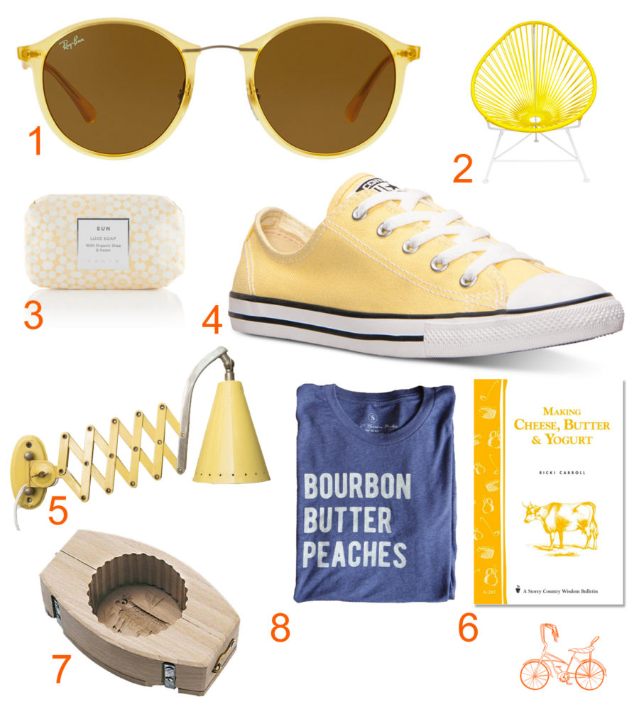 Butter-inspired things, Libbie Summers Loves, Crushing on Butter, Butter Yellow