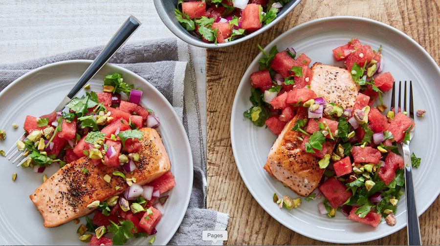 Meal Delivery Service, Healthy Meals, Libbie Summers, Salmon Recipes, Watermelon Recipes