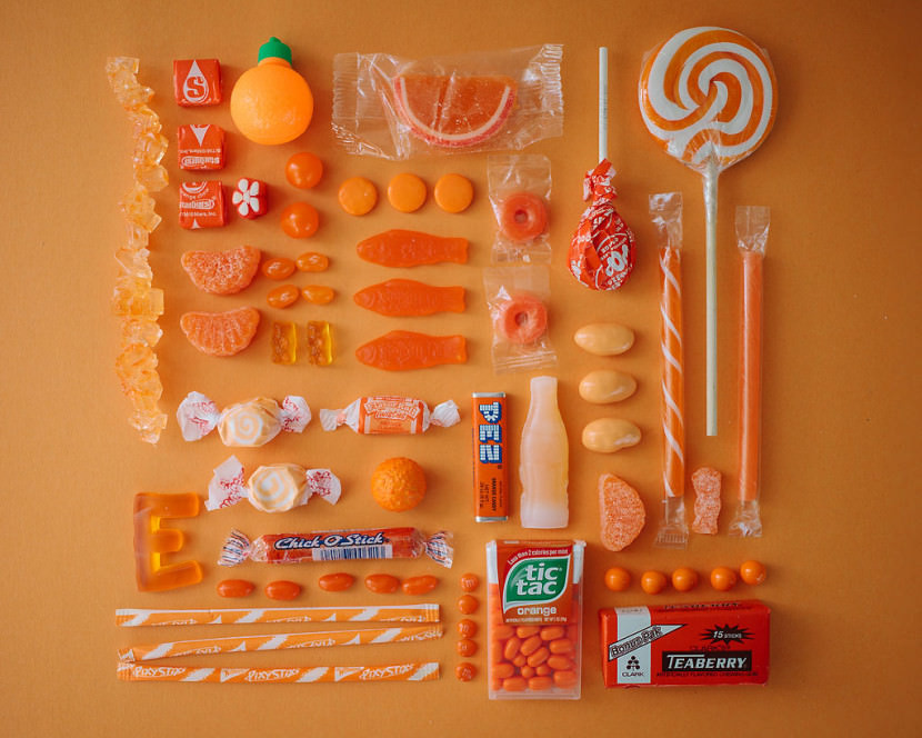 Candy Art by Emily Blincoe